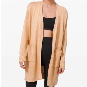 Lululemon Sincerely Yours Wrap Sweater